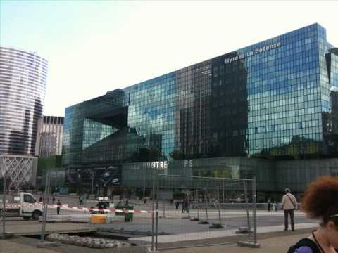 Classical and Modern European Business District