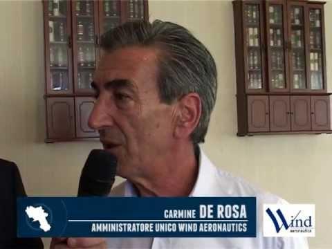 Wind Aeronautics, azienda casertana della supply chain di Alenia Aermacchi.