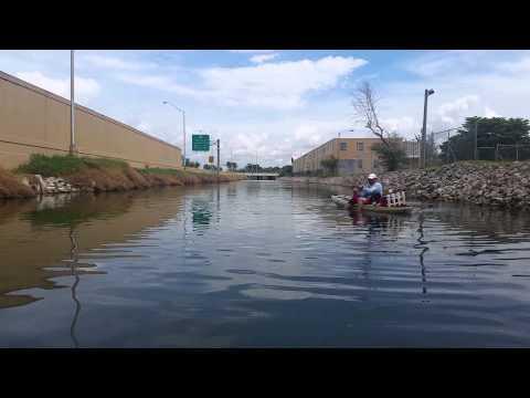 Miami canals Tarpon fishing.
