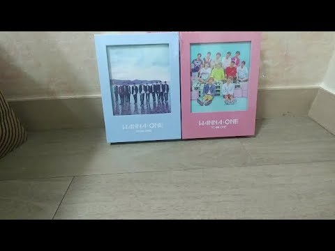 """Wanna One debut album """"to be one"""" unboxing!"""