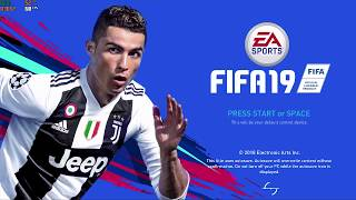 FIFA 19 PC (4K video) + ASUS ROG GL703GE NVidia GTX 1050 Ti gameplay