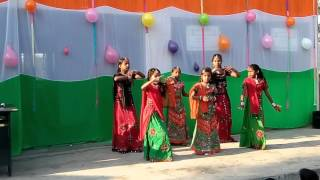 Sat Suro na Sarvale swagat geet 26 january 2016 Annual Fuction by Niyol primary school