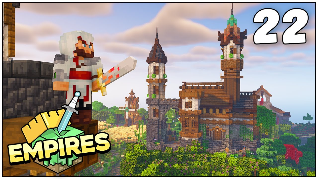 Empires SMP - STARTER HOUSE UPGRADE & DEMON RETURNS!!! - Ep.22 [Minecraft 1.17 Let's Play]