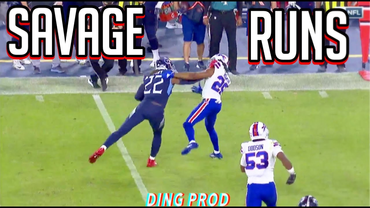 Download NFL 'SAVAGE' Runs of the 2020-2021 Season    ᕼᗪ