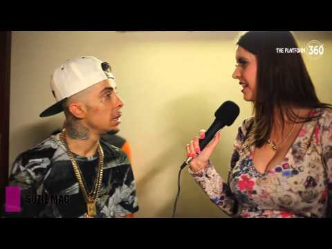 Dappy at O2 Academy Islington   Back stage with Suzie Mac @TheDappy and more