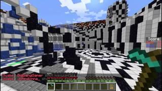 Lets Play QuakeCraft on SORB Vanilla Cracked Minecraft Hybrid Server #1