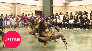 Watch the Dancing Dolls face off against Pure Justice in stand batt...