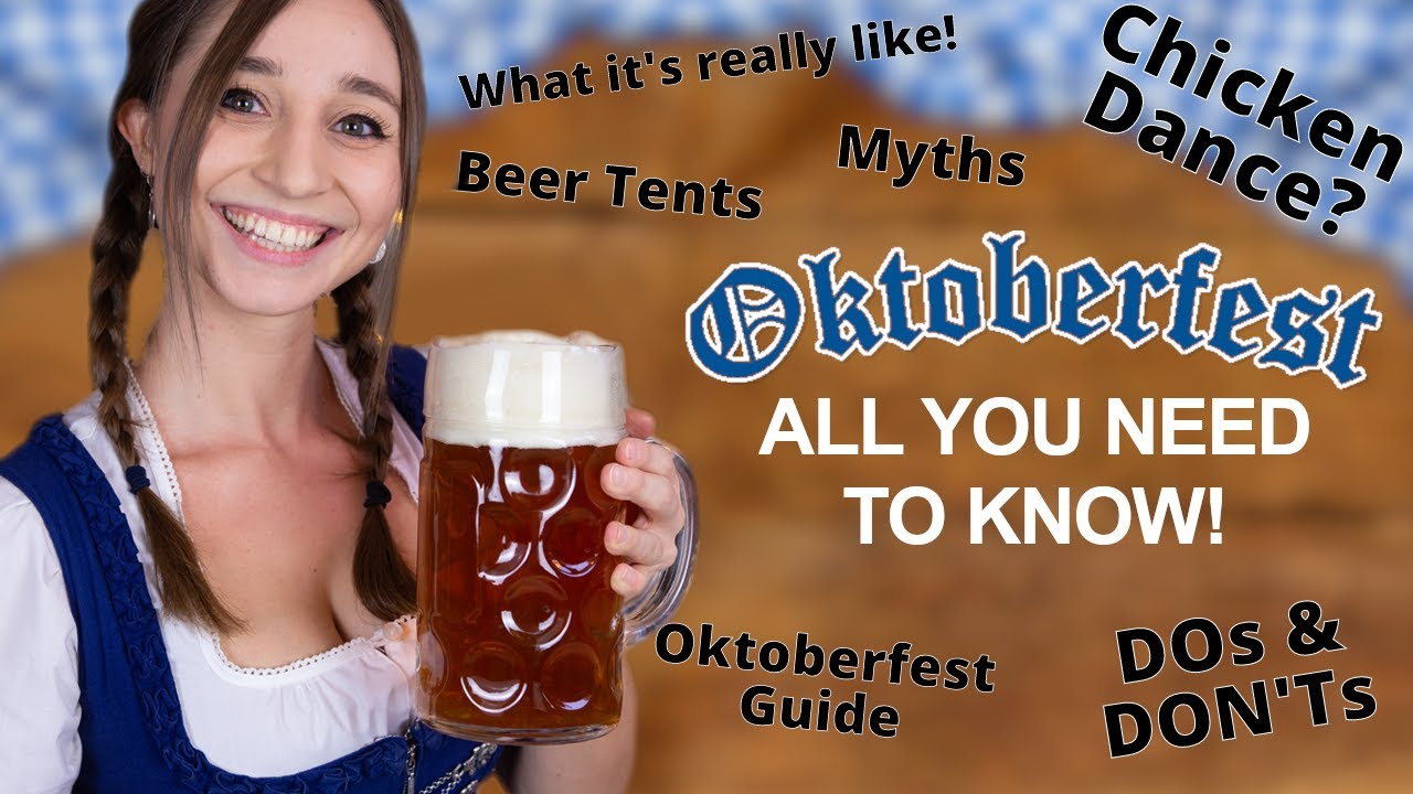 OKTOBERFEST explained by a Munich Native! Everything you need to know!   German Girl in America