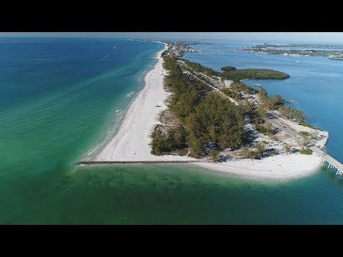 aerial-of-anna-maria-island-stock-footage
