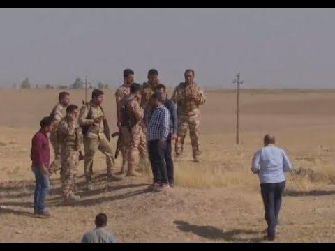 Battle Of Kirkuk - Clashes between Iraqi Forces And Kurdish Peshmerga Fighters