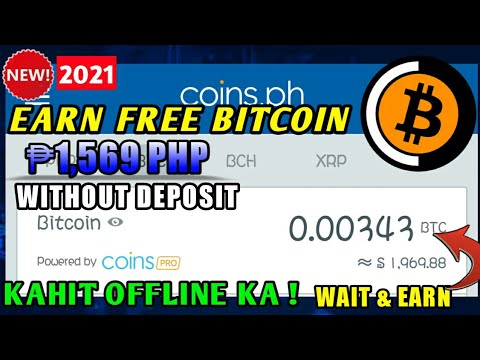 BAGONG SITE FREE BITCOIN MINING ₱1,569 PHP NG LIBRE LANG! EARN BITCOIN KAHIT OFFLINE WITHOUT DEPOSIT