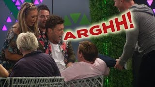 Housemates get tickly in the garden | Day 23, Celebrity Big Brother
