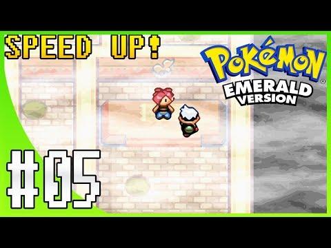 Pokemon Emerald Walkthrough Part 5: Lavaridge Town & Gym Leader Flannery (SPEED UP!)