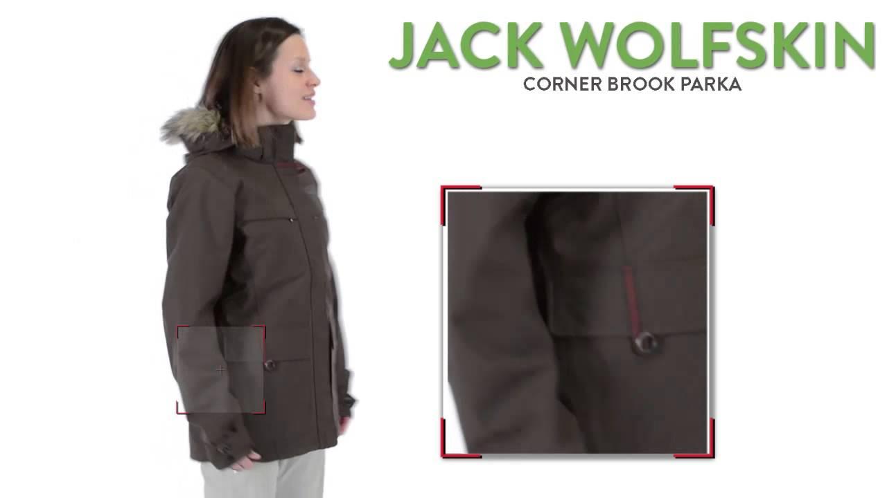 Jack Wolfskin Corner Brook Parka Waterproof, 3 in 1 (For