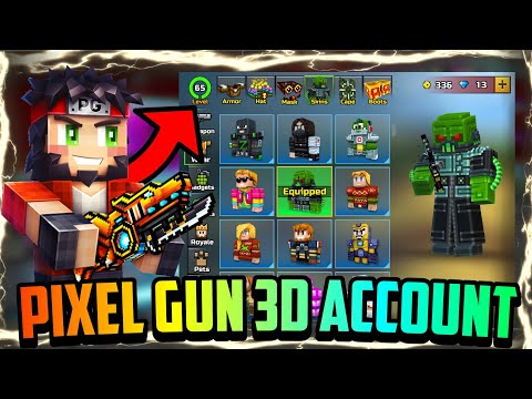Get Pixel Gun 3D Modded Account For Free! (Maxed, Lvl 65, Etc.) (17.7.0)