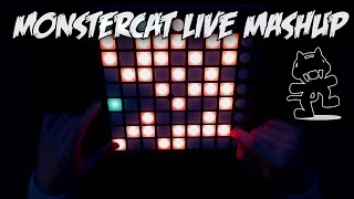 monstercat live mashup 78 songs   launchpad cover by rion