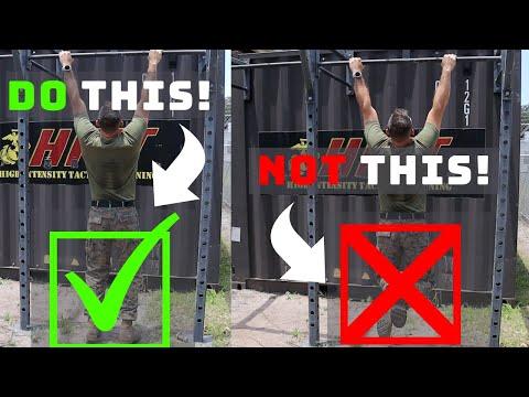 US Marine 5 Tips for Easier Pull Ups