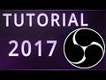OBS STUDIO - TUTORIAL (2017): Configuracion Optima para Stream y Grabar