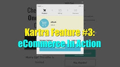 Kartra Review Demo Bonus - Feature 3 - Kartra eCommerce In Action