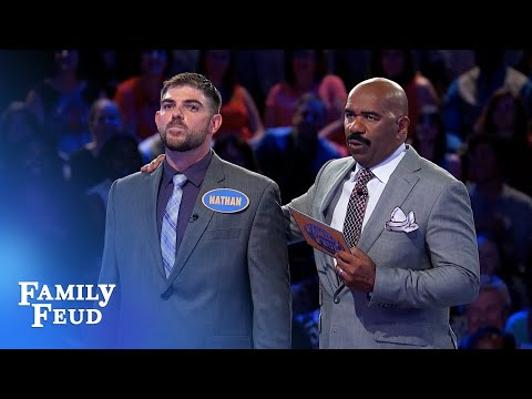 Bradleys play for BIG BUCKS! | Family Feud