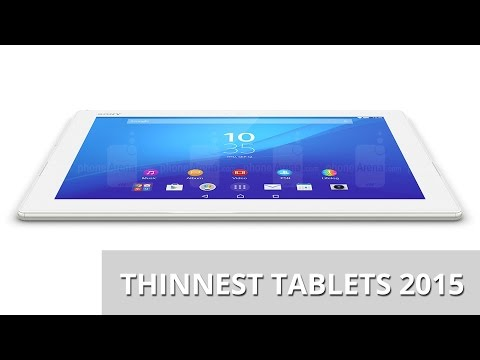 Thinnest Tablets 2015