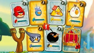 Angry Birds 2 #7 игра про мультик энгри бердс и Bad Piggies #крутилкины