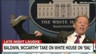 melissa mccarthy s sean spicer is back on saturday night live ivanka product line referenced