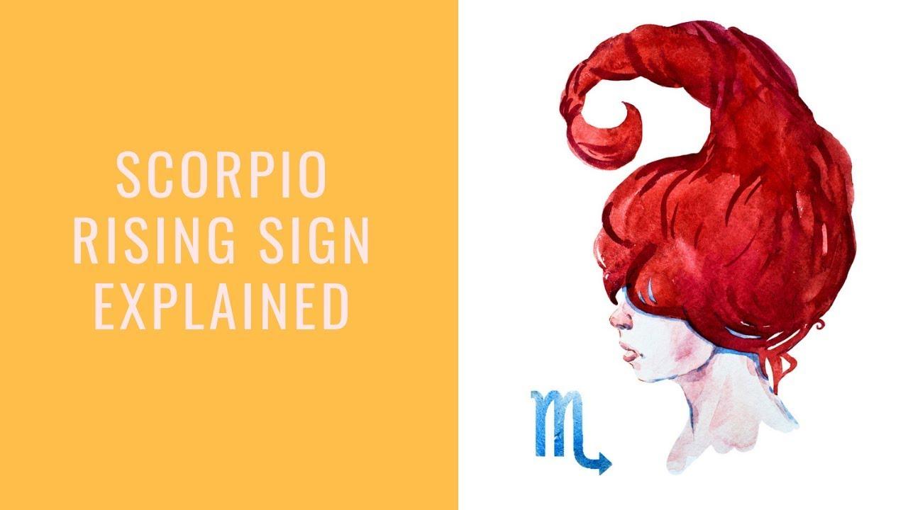 Scorpio Rising: Complete Astro Report On The Scorpio Ascendant