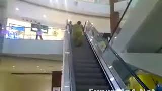 TRY NOT TO LAUGH - Funny Videos | Funny Indian Women Climbing Staircase (Must See)