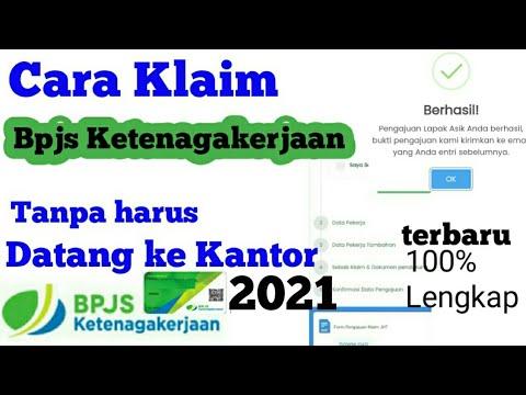 Cairkan BPJS Ketenagakerjaan Online Saat Pandemi - Klaim Dana Jamsostek Online.