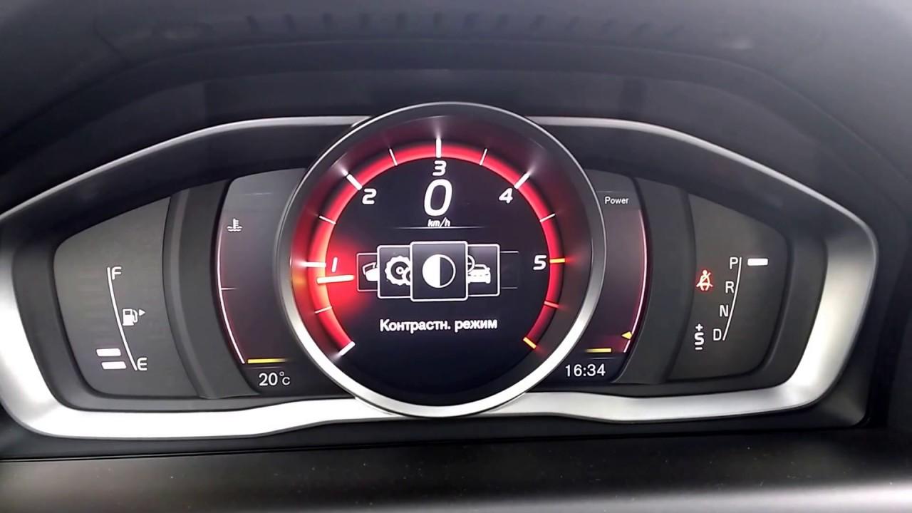 2017 Volvo XC60 Dashboard - YouTube