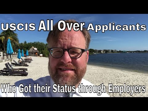 USCIS is all over immigration applicants who got their status through an employer