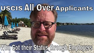 USCIS is all over immigration applicants who got their status through an employer Free HD Video