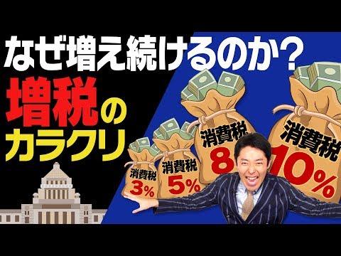 【政治】なぜ増え続ける?「消費税増税」〜裏に隠された歴史編〜①