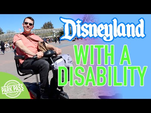 Disneyland Disability Access Pass | How To Go To Disneyland With A Disability