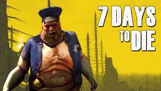 Crazy Zombie Cops ★ 7 Days To Die (16) - Zombie Games
