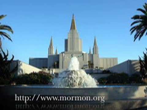 Oakland California LDS (Mormon) Temple - Mormons