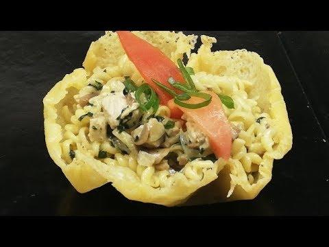 croustillant-de-pÂtes-au-poulet-facile-(cuisine-rapide)