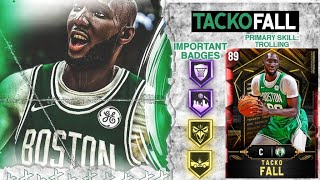 *NEW* RUBY TACKO FALL GAMEPLAY! THE POST HOOK IS UNSTOPPABLE! NBA 2k20 MyTEAM