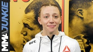 UFC on ESPN 1: Emily Whitmire full post-fight interview
