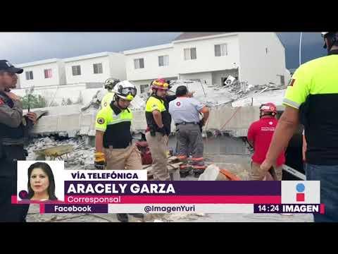 ¡Otra plaza comercial que se derrumba! Ahora en Monterrey | Noticias con Yuriria Sierra