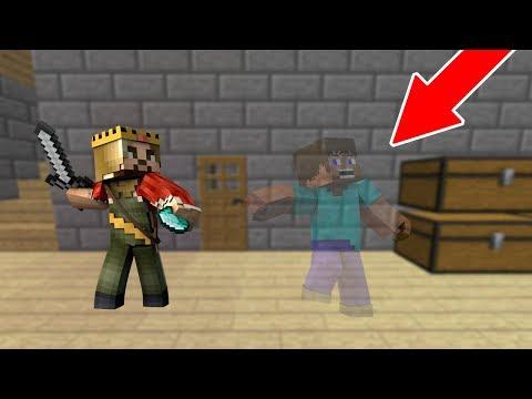 ZENGİN GÖRÜNMEZ ADAMI ARIYOR! 😱 - Minecraft thumbnail