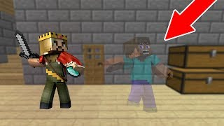 ZENGİN GÖRÜNMEZ ADAMI ARIYOR! 😱 - Minecraft
