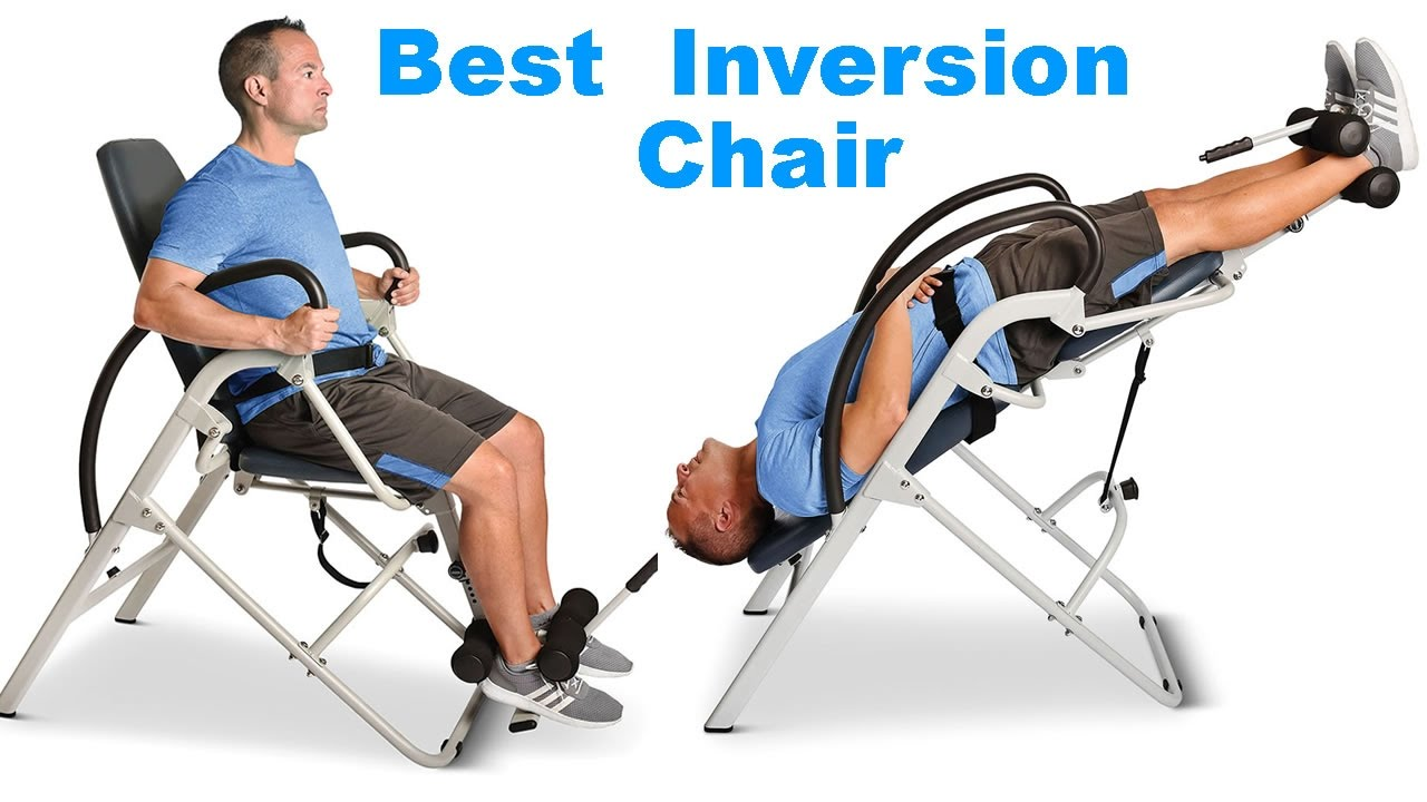 Hang Upside Down Chair For Back Pain  YouTube