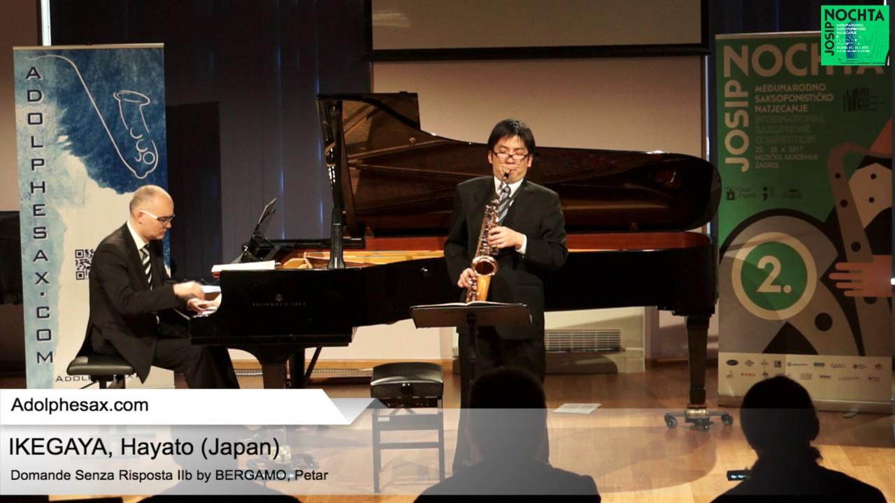 Domande senza risposta IIb (Petar Bergamo) - IKEGAWA, Hayato (Japan)