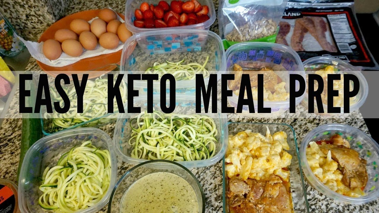 Easy Keto Meal Prep For Weight Loss Low Carb Meals