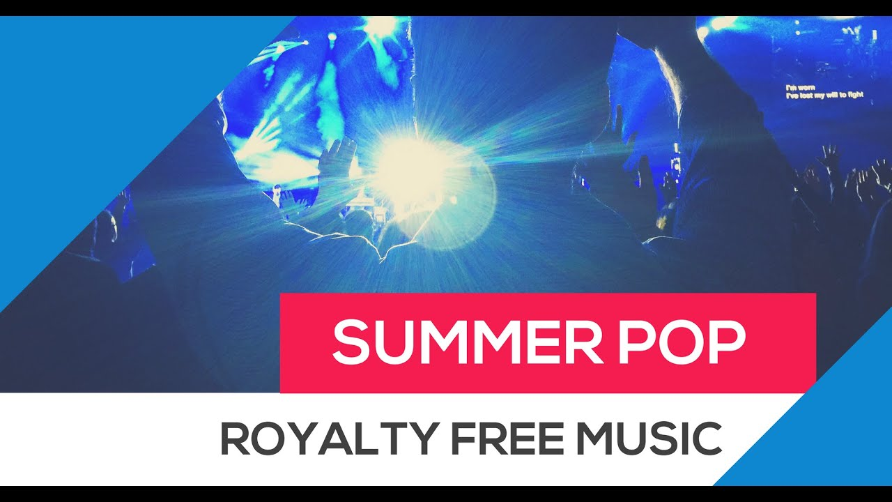 Royalty Free Pop Music (Instrumental Dance Music - AudioJungle)