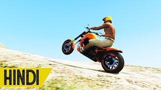 MOUNT CHILIAD BIKE STUNT | GTA 5 Online