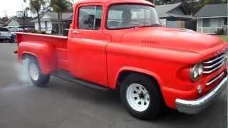 1958 Dodge D100 Burnout