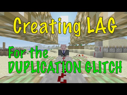Minecraft Xbox / PS - TU39 - HOW TO CREATE LAG / LAGGY WORLD FOR THE DUPLICATION GLITCH  - TUTORIAL